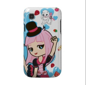 Penelope the Gothic Lolita Android Phone Case